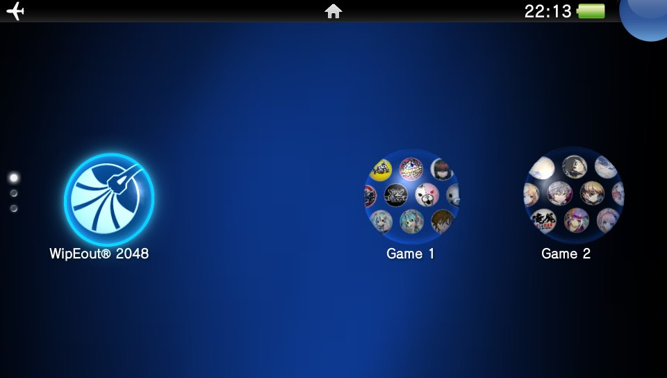The PS Vita sports a much better screen, which you can see by the size of this screenshot.