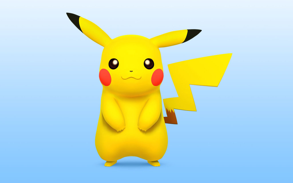 Pokémon and Pikachu are very well known. I mean, how can you not love this little yellow bastard? Awww. I called him a bastard. I'm so sorry, Pikachu.