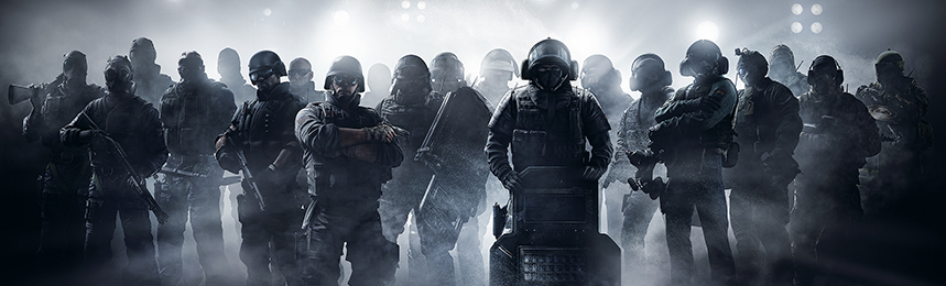 The R6 operators are very diverse and are the reason why the game remains somewhat balanced.